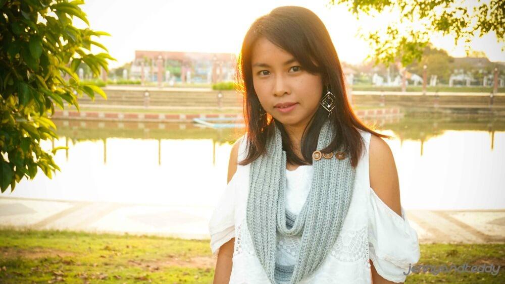beginner crochet infinity scarf free pattern