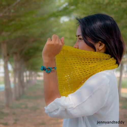 beginner lace crochet scarf free pattern