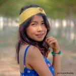 button up single crochet headband free pattern for beginner by jennyandteddy