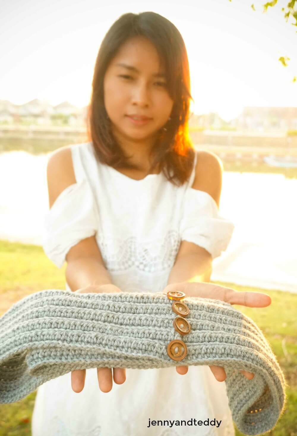 c crochet infinity scarf tutorial for beginner