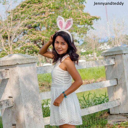 crochet bunny ear