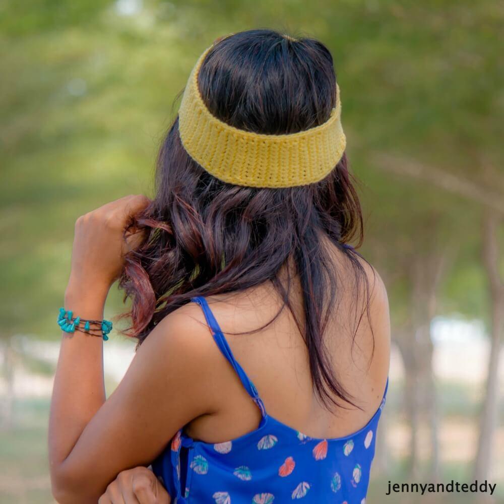 easy single crochet headband