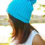 how to crochet easy ribbing stitches beanie hat free 1tutorial