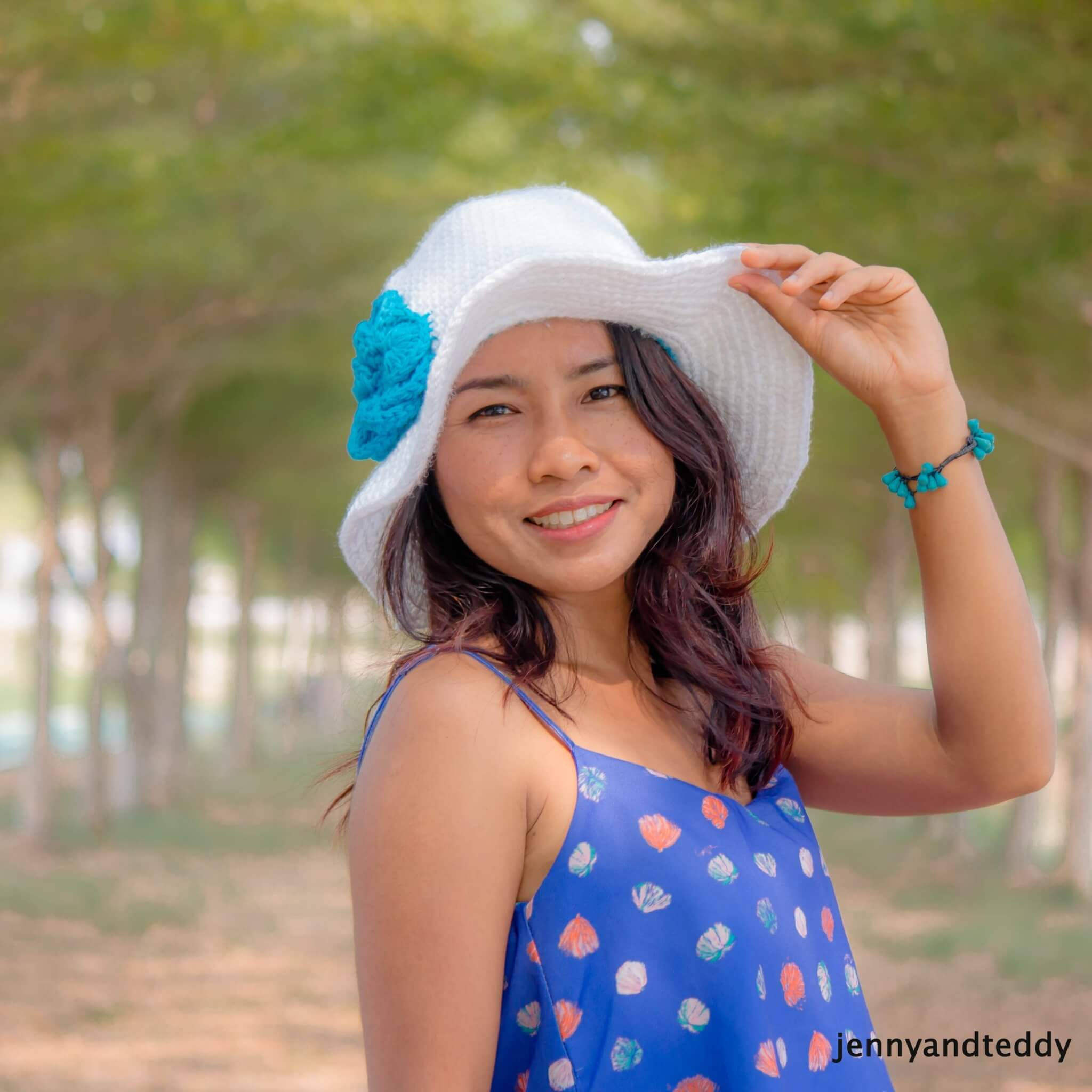 how to crochet sun hat for beginner by jennyandteddy 1eb09522079