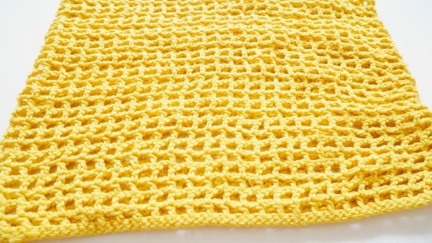 mesh cowl crochet how to