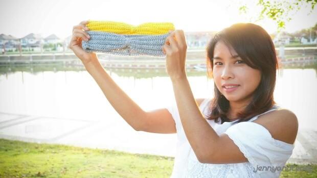 adorable simple knot headband crochet pattern free