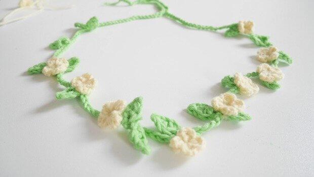 boho chic crochet flowers free pattern headbands