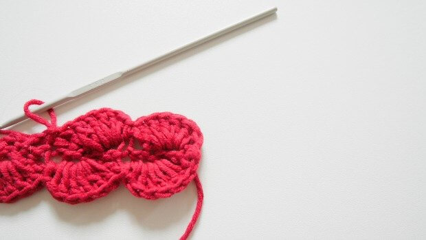 easy crochet shell stitch