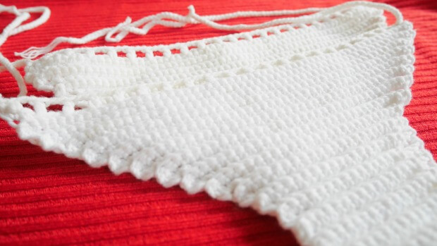 simple crochet bikini free pattern