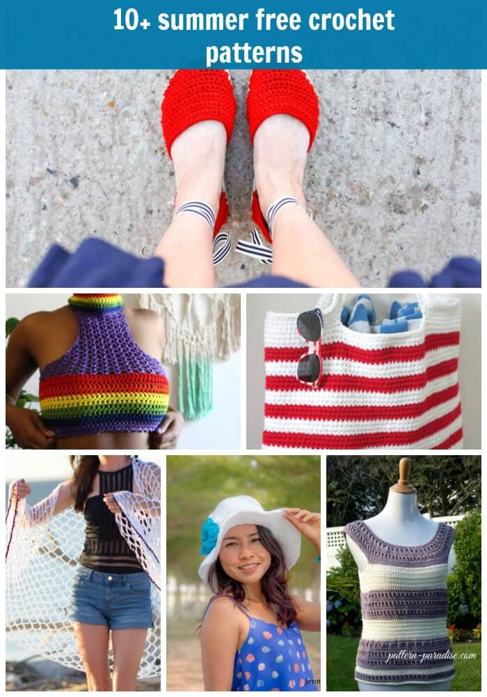 10summer Free Crochet Pattern