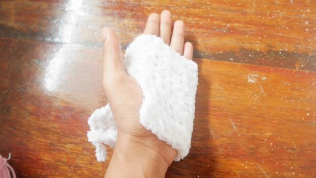 aeasy crochet mitten