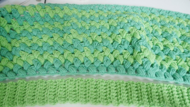 an easy simple puff stitch free crochet pattern