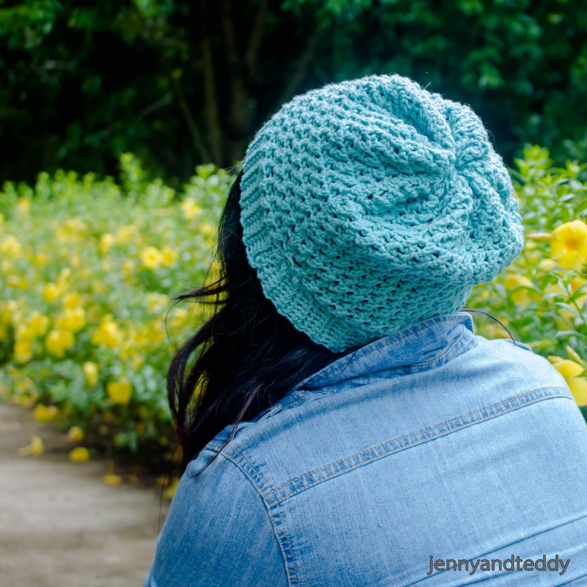 whimsical beanie free crochet pattern (2)