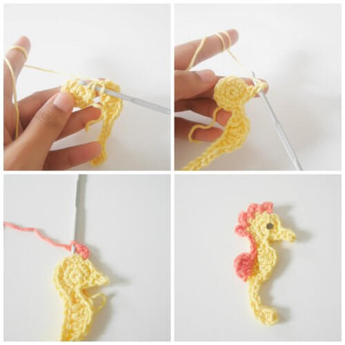 aseahorse easy applique by jennyandteddy