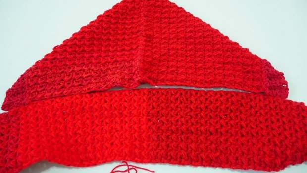 1how to make hoodie pocket scarf crochet