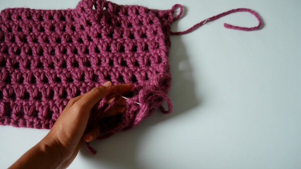 1 hour cowl quick and easy use bulky yarn free crochet pattern