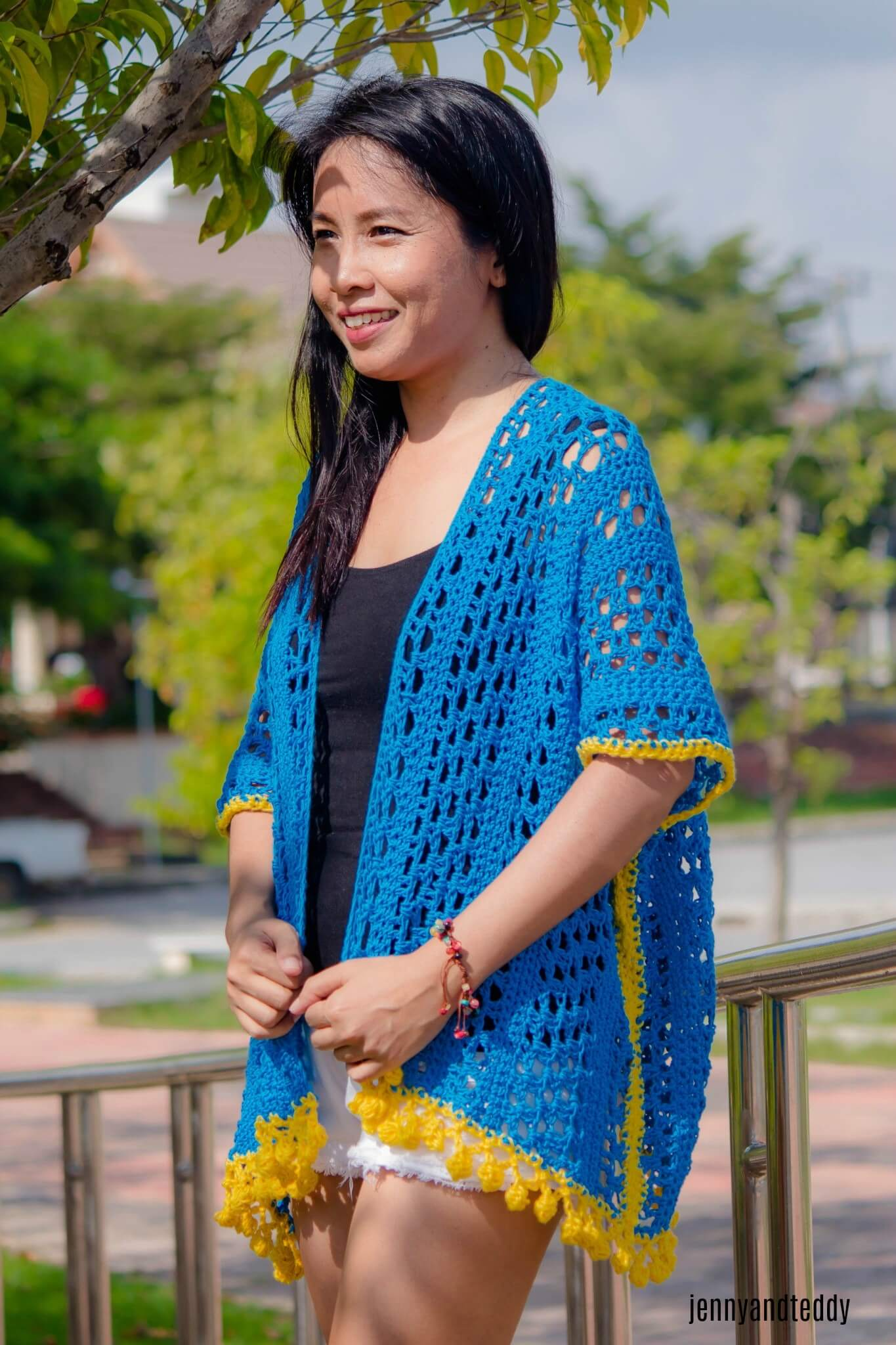 1crochet kimono cardigan free pattern