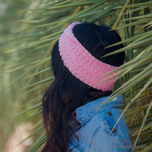 crochet twisted headband free pattern