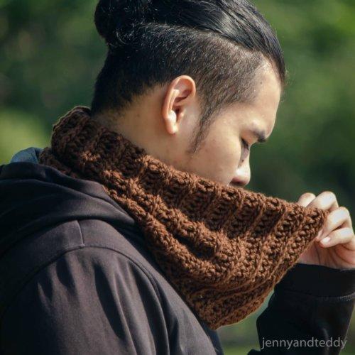 easy crochet neck warmer cowl free pattern