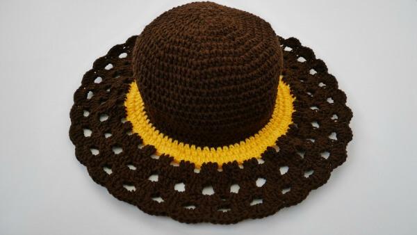 easy crochet sun hat free pattern how to