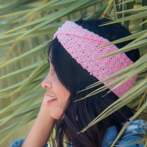 easy crochet twists headband free pattern