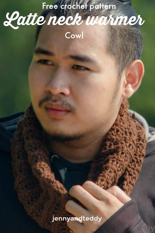 free crochet neck warmer cowl pattern easy