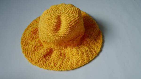 wide brim crochet sun hat free pattern1