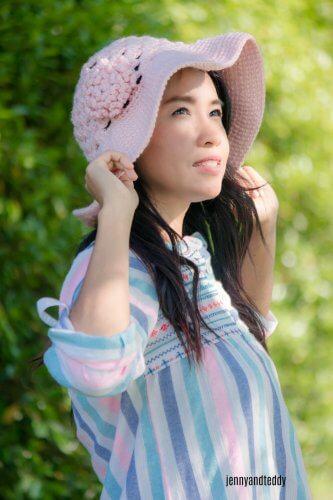 wide brim sun hat free crochet pattern easy for beginner4