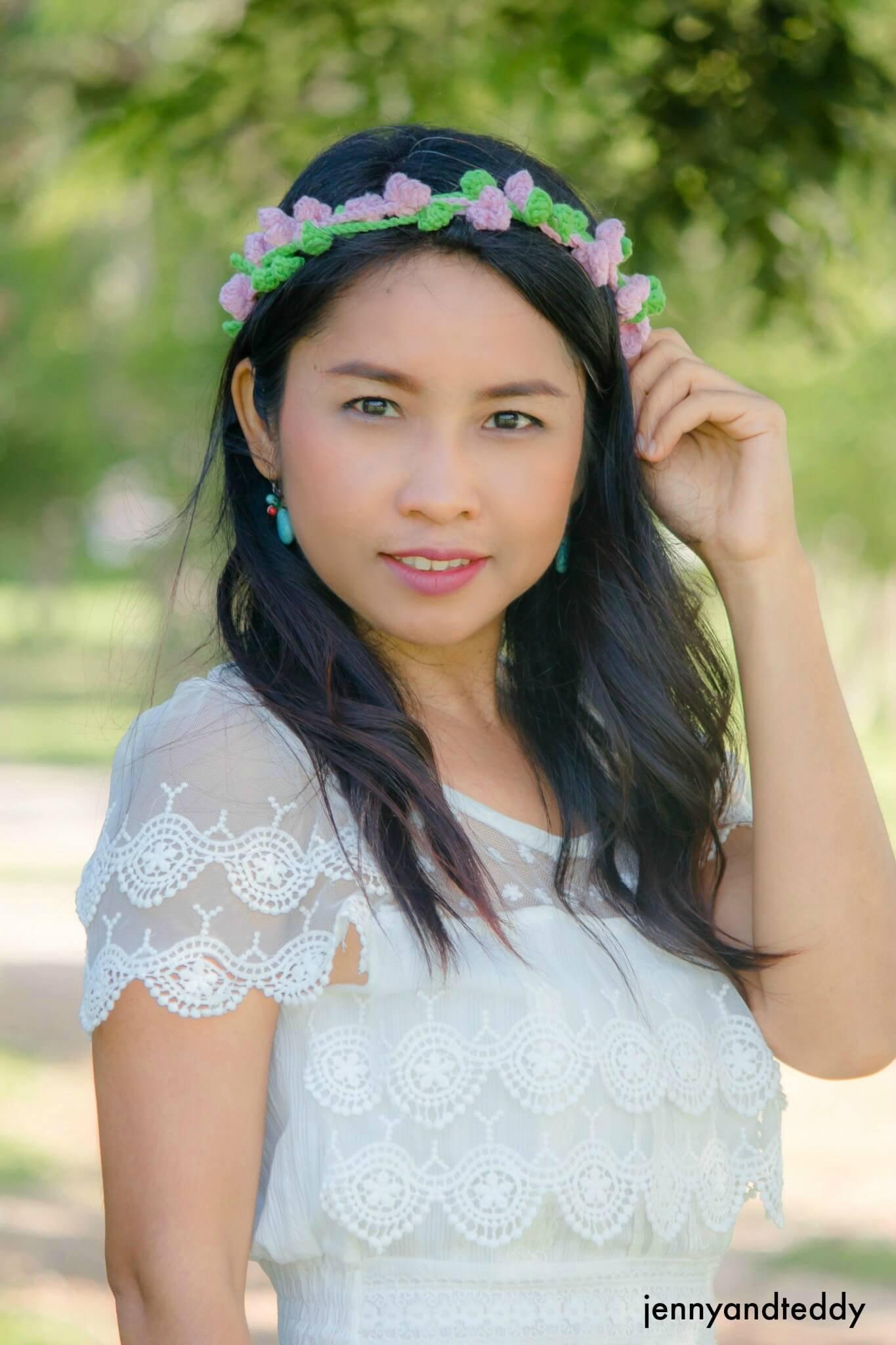 1delia crochet flowers crown how to tutorial free pattern