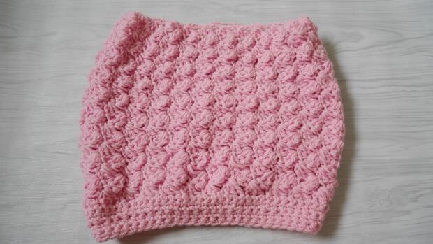 8top down crochet slouchy hat free pattern