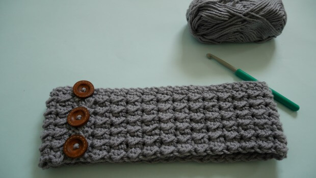 beginner atlantic crochet headband