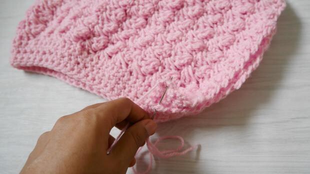 beginner crochet slouch hat