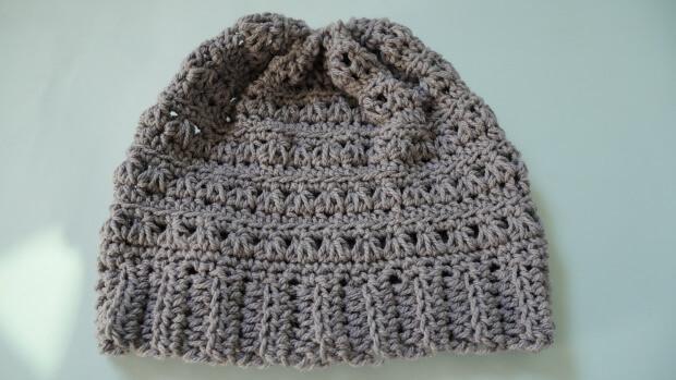 crochet newman hat beanie free pattern