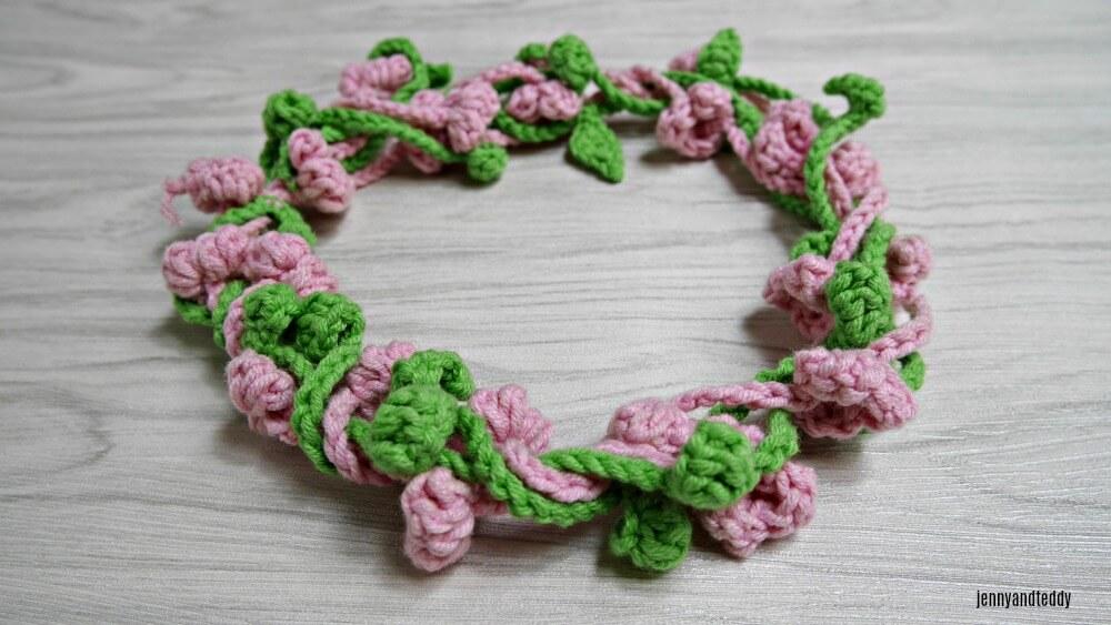 flower crown crochet pattern