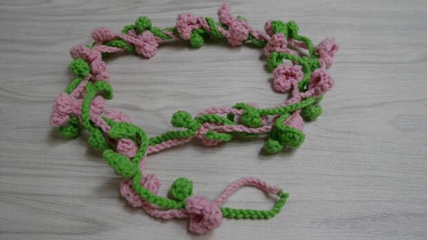 flower crown free pattern tutorial simply