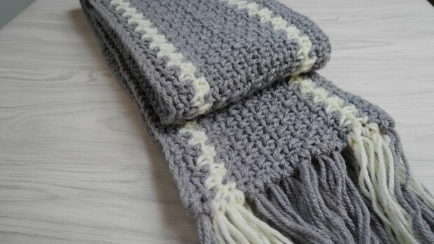 norton crochet men scarf