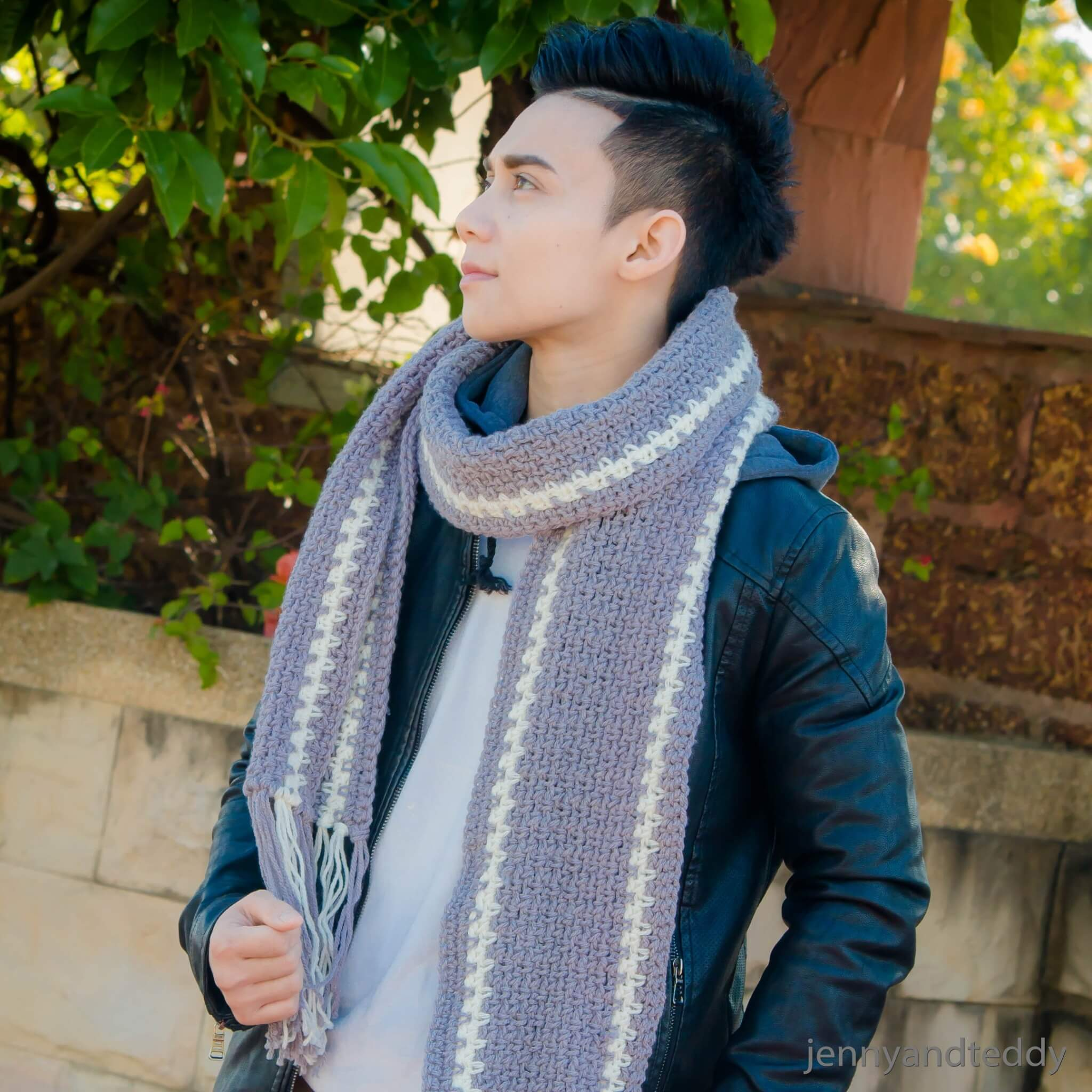 The Norton Men Scarf Free Crochet Pattern