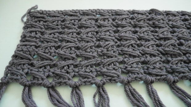 bohemiam style crochet cowl free paterrn