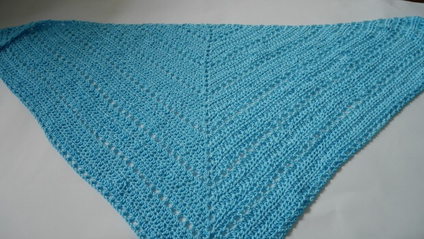 hello spring shawl easy beginner crochet pattern