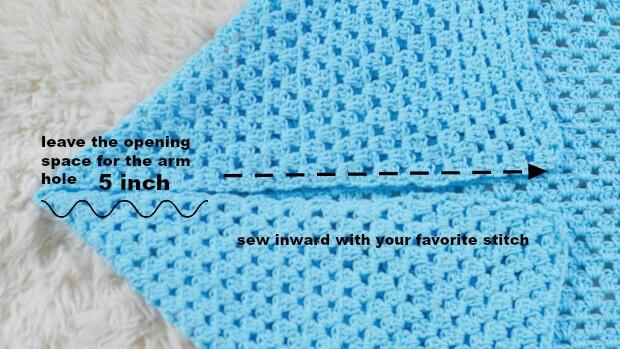 easy blanket crochet cardigan for beginner use granny stitches