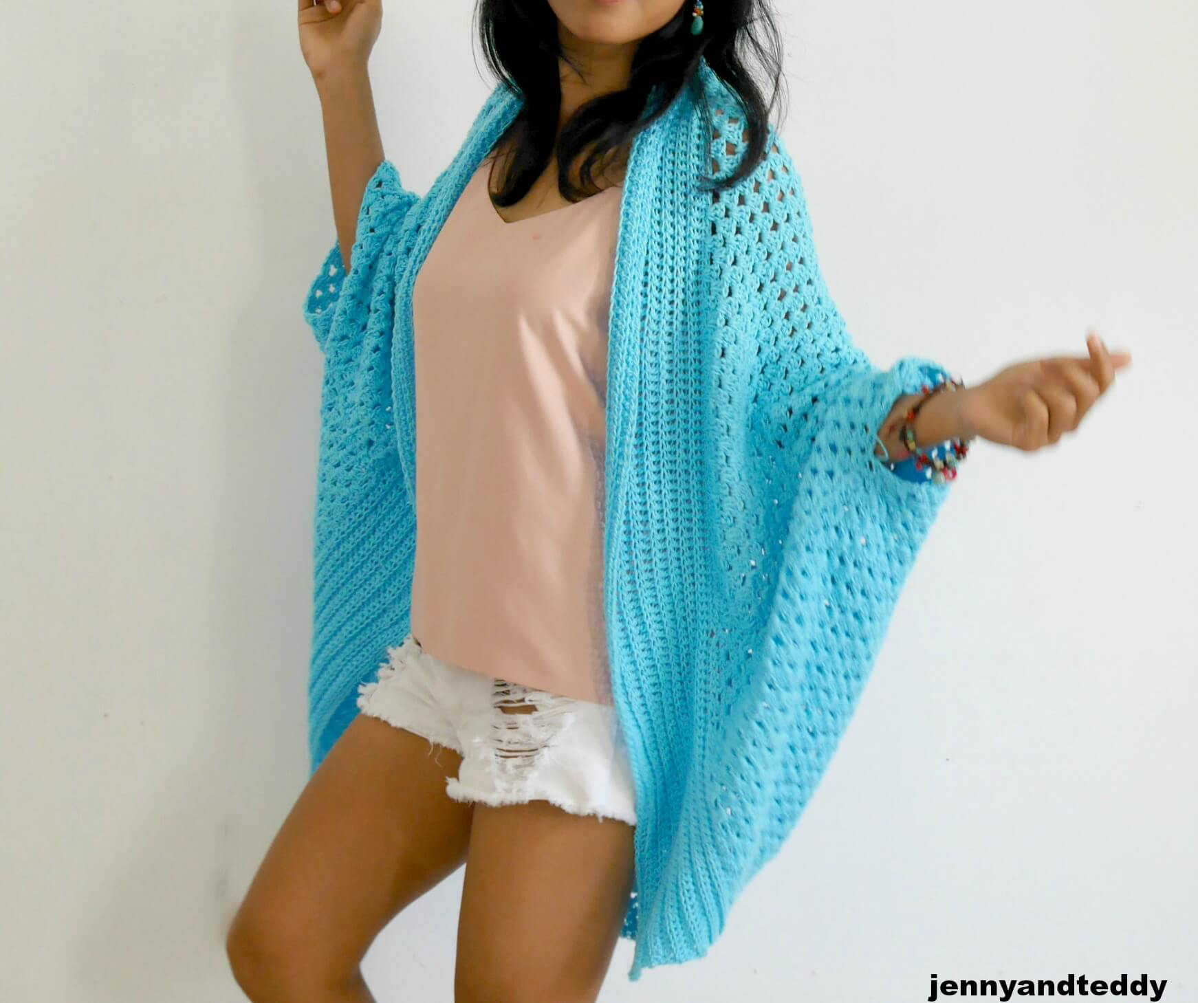 easy granny crochet stitch cardigan free pattern beginner friendly