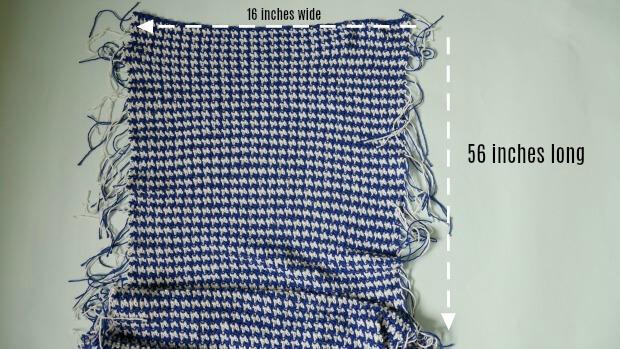 houndstooth crochet stitch easy poncho