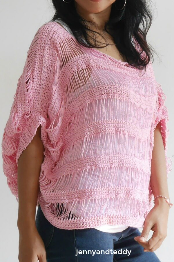 sugar drop summer crochet top1