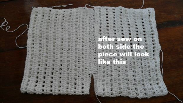 easy as pic crochet shrug or borelo beginner friendly