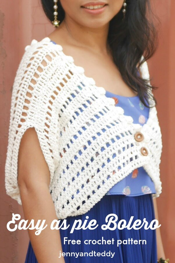 Easy As Pie Bolero Free Crochet Pattern