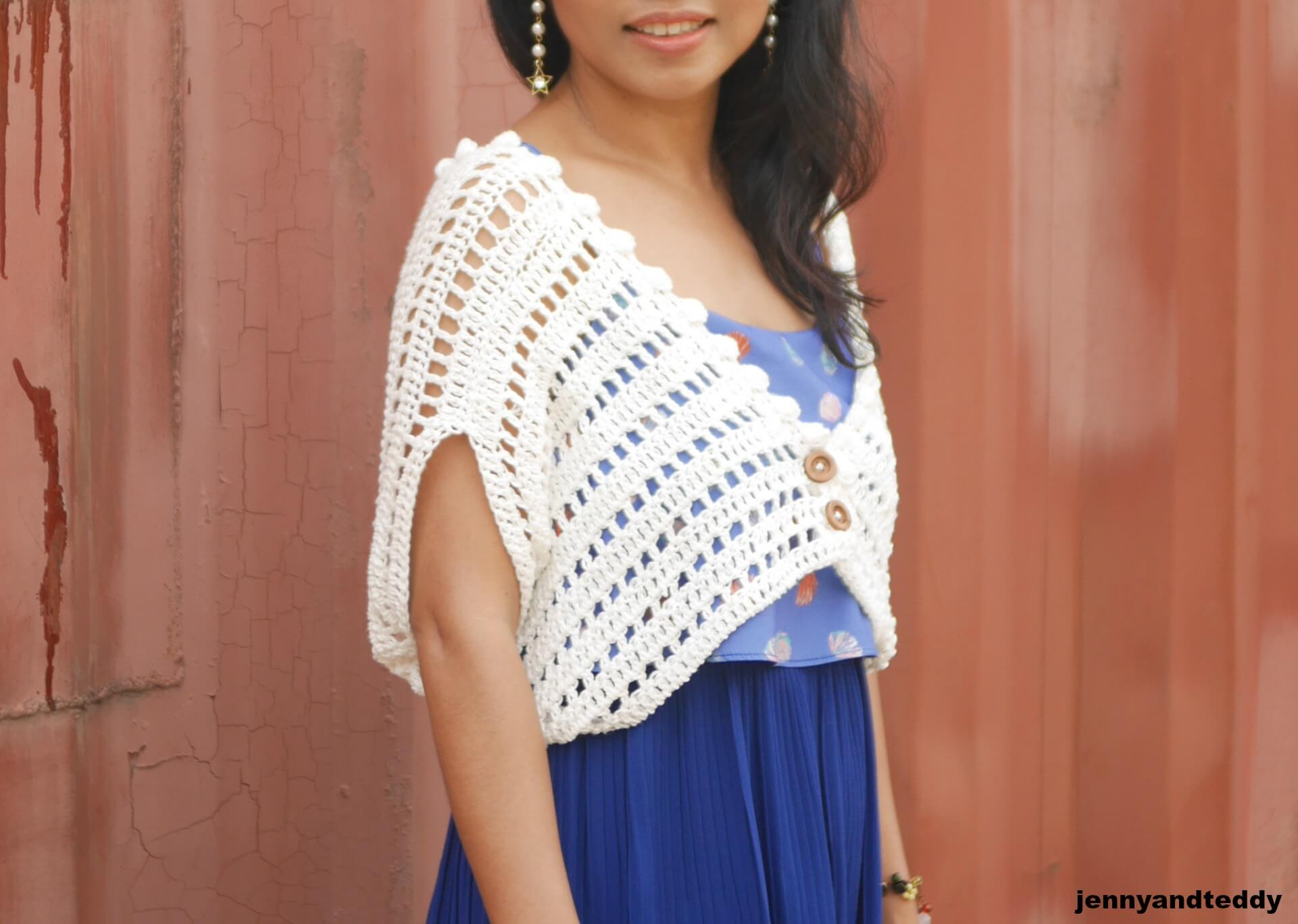 Crochet Bolero Pattern Awesome Ideas