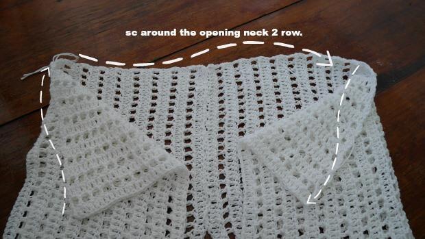 easy as pie crochet shrug free tutorial