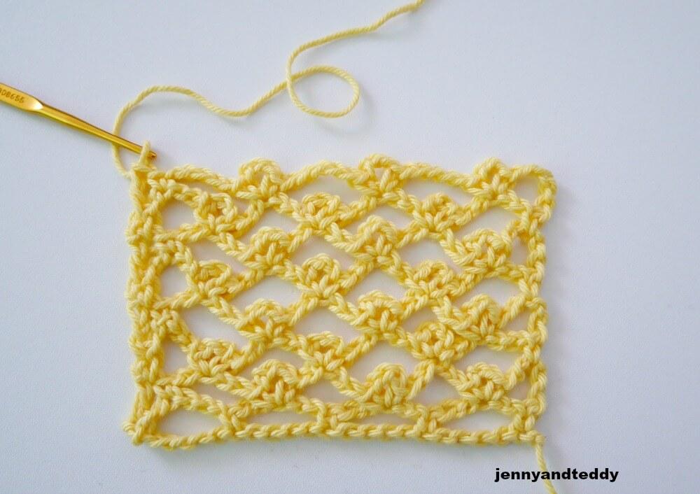 picot chain stitch