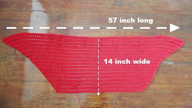 date night raffle shawl easy beginner tutorail free crochet pattern