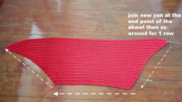 date night raffle shawl free crochet pattern beginner friendly easy